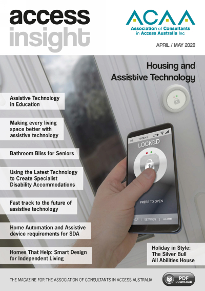 ACAA Access Insight May 2020 Cover