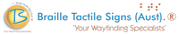 Logo of Braille Tactile Signs